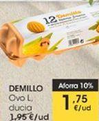 Oferta de DEMILLO Ovo L, ducia por 1,75€