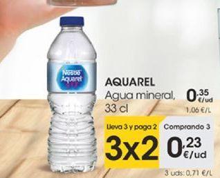 Oferta de AQUAREL Agua mineral natural, 33 cl por 0,23€