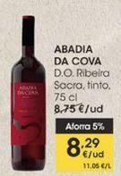 Oferta de ABADIA DA COVA D.O Ribeira Sacra, tinto, 75 cl por 8,29€