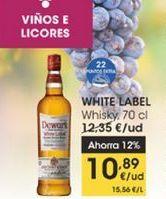 Oferta de Whisky White Label 70 cl por 10,89€
