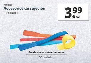 Oferta de Accesorios Parkside por 3,99€