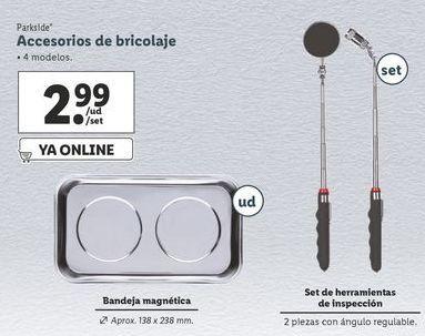 Oferta de Accesorios Parkside por 2,99€