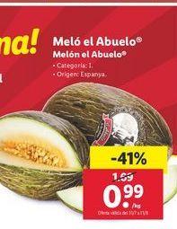 Oferta de Melón el abuelo por 0,99€