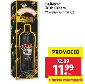 Oferta de Bailey's Ireish Cream  por 11,99€