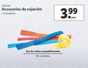 Oferta de Accesorios de sujeción Parkside por 3,99€