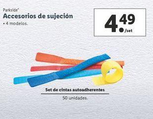 Oferta de Accesorios de sujeción Parkside por 4,49€