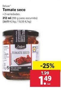 Oferta de Tomate seco Deluxe por 1,49€