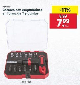Oferta de Llave de carraca Powerfix por 7,99€