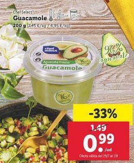 Oferta de Guacamole chef select por 0,99€
