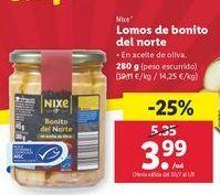 Oferta de Lomo de bonito del norte nixe por 3,99€