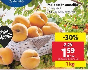 Oferta de Melocotones amarillo  por 1,59€