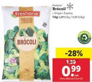 Oferta de Brócoli Freshona por 0,99€