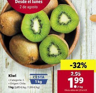 Oferta de Kiwis por 1,99€