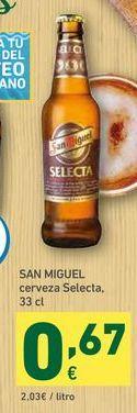 Oferta de Cerveza San Miguel por 0,67€
