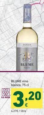 Oferta de Vino blanco Blume por 3,2€