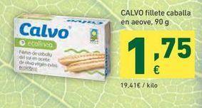 Oferta de Filetes de caballa Calvo por 1,75€