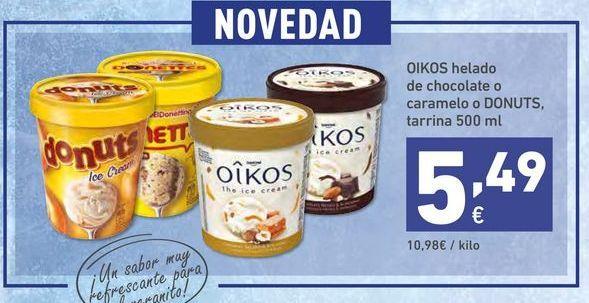 Oferta de Helados OIKOS por 5,49€