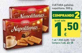 Oferta de Galletas Cuétara por 1,84€