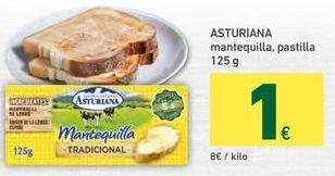 Oferta de Mantequilla Central Lechera Asturiana por 1€