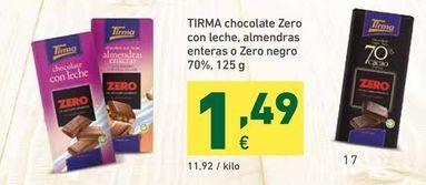 Oferta de Chocolate Tirma por 1,49€