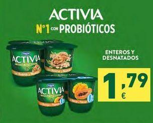 Oferta de Yogur Activia por 1,79€