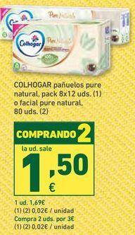 Oferta de Pañuelos de papel Colhogar por 1,69€