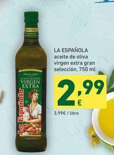 Oferta de Aceite de oliva virgen extra La Española por 2,99€