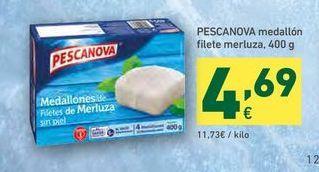 Oferta de Medallones de merluza Pescanova por 4,69€