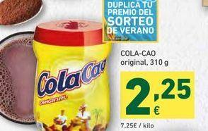 Oferta de Cacao soluble Cola Cao por 2,25€