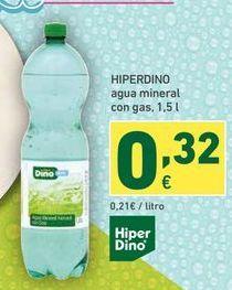 Oferta de Agua Hiperdino por 0,32€