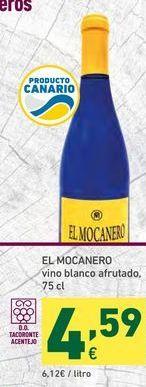 Oferta de Vino blanco el mocanero por 4,59€