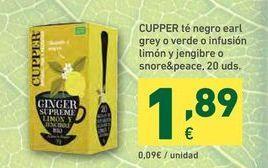 Oferta de Té por 1,89€