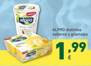 Oferta de Yogur Alpro por 1,99€