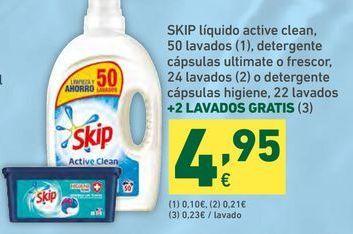 Oferta de Detergente Skip por 4,95€