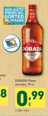 Oferta de Cerveza dorada por 0,99€