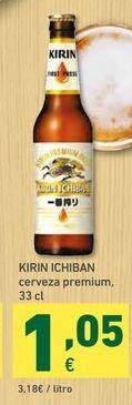 Oferta de Cerveza Kirin ichiban por 1,05€