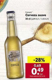 Oferta de Cerveza suave Camaro  por 0,49€