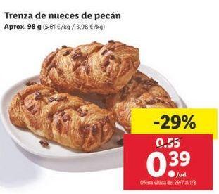 Oferta de Trenza de nueces de pecan por 0,39€