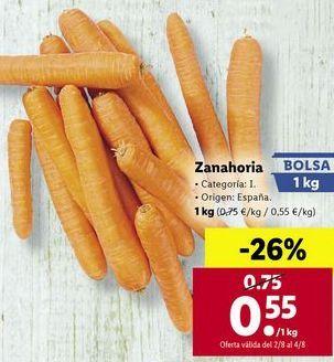 Oferta de Zanahorias por 0,55€