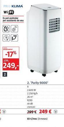 Oferta de Aire acondicionado por 249€