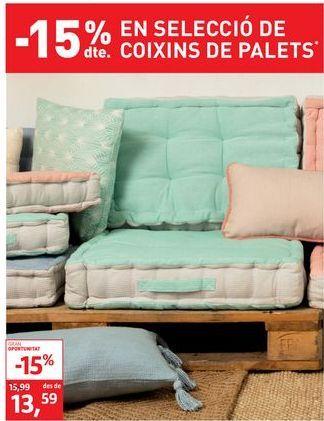 Oferta de Cojines por 13,59€