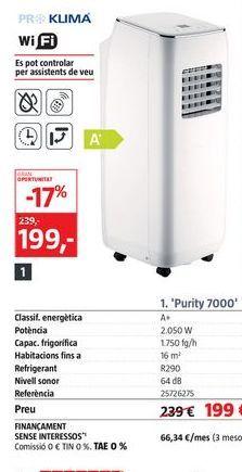 Oferta de Aire acondicionado por 199€