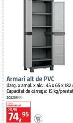 Oferta de Armarios por 74,95€
