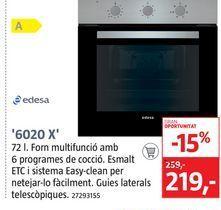 Oferta de Horno multifunción por 219€