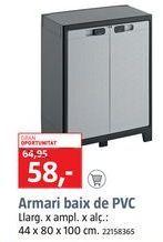 Oferta de Armarios por 58€