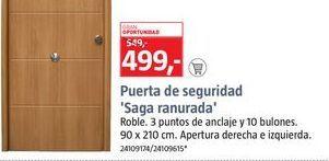 Oferta de Puerta de seguridad por 499€