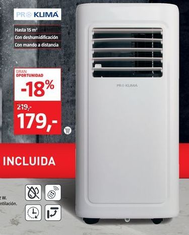 Oferta de Aire acondicionado por 179€