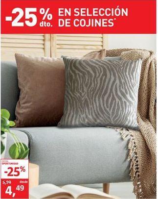 Oferta de Cojines por 4,49€