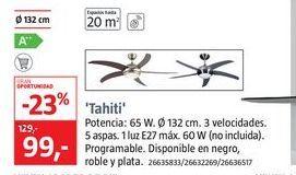 Oferta de Ventilador de techo por 99€