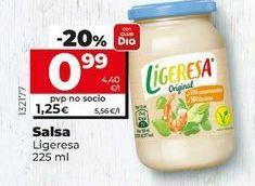 Oferta de Salsas Ligeresa por 0,99€